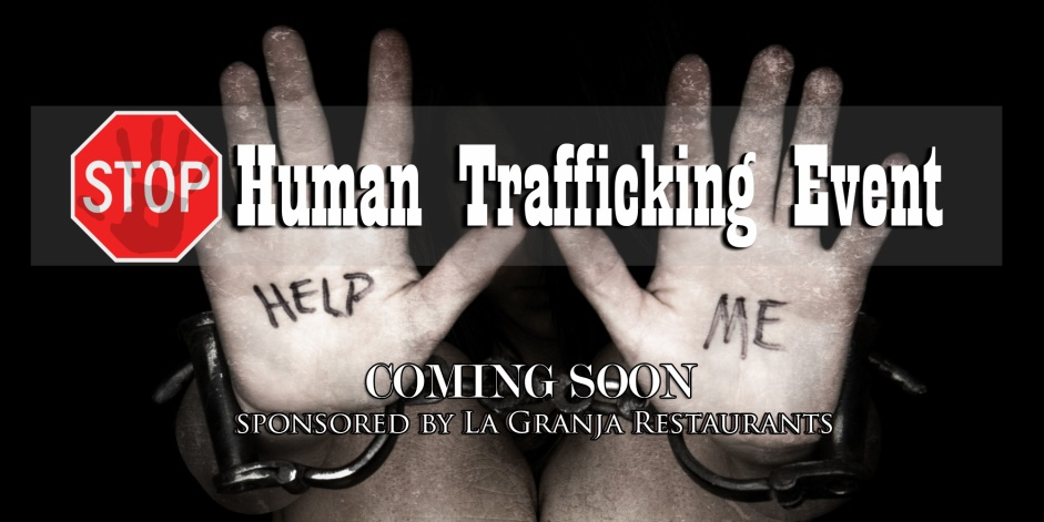 Stop Human Trafficing Event - Coming Soon